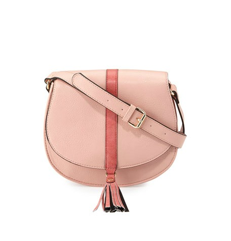 Blush  Tassel Saddlebag  | Photo: Neiman Marcus