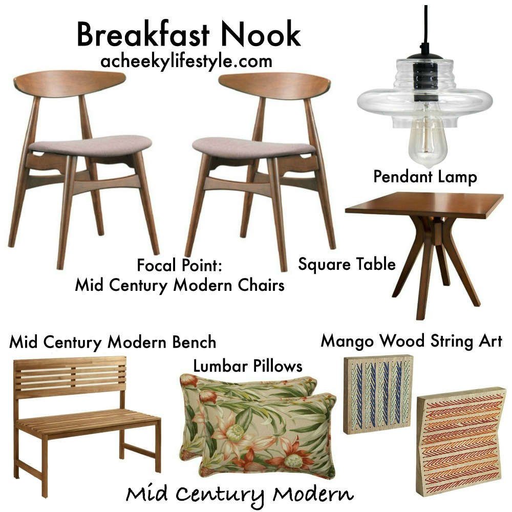 3 Chic Breakfast Nooks On A Budget @acheekylifestyle by Val Banderman