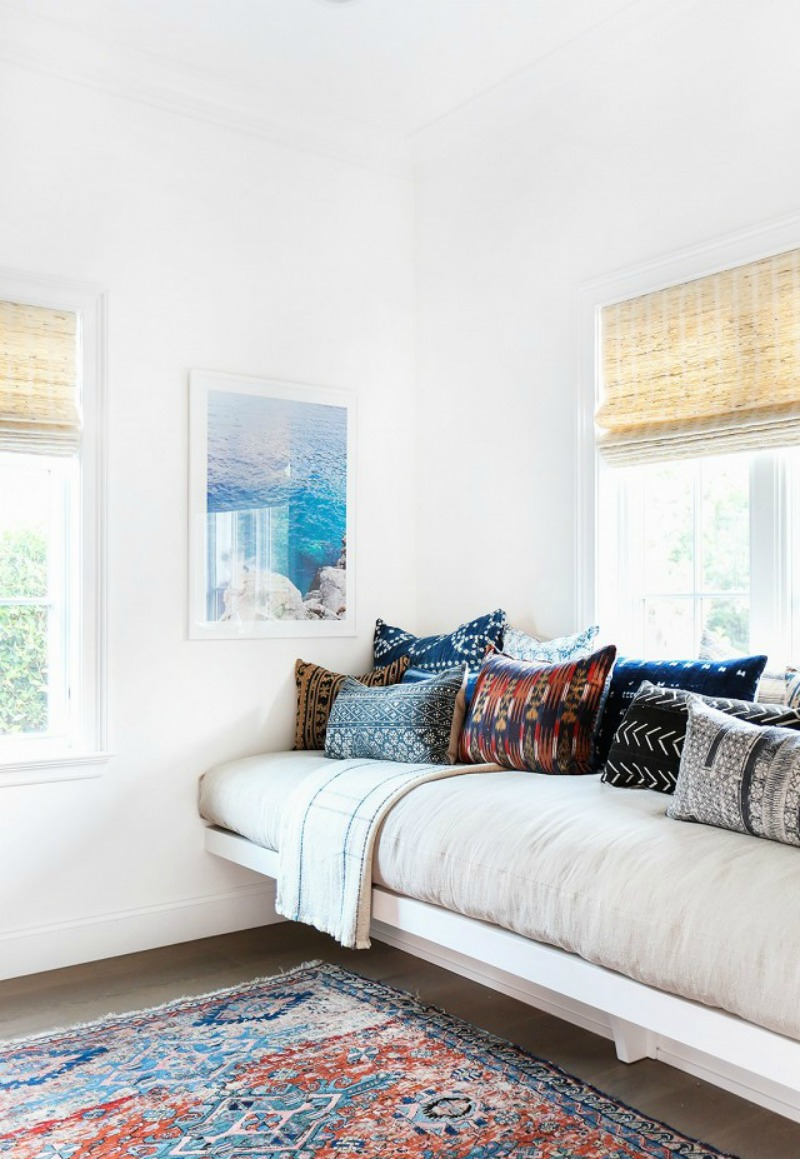 Daybed Obsession! How To Use It In 7 Different Rooms @acheekylifestyle.com by Val Banderman