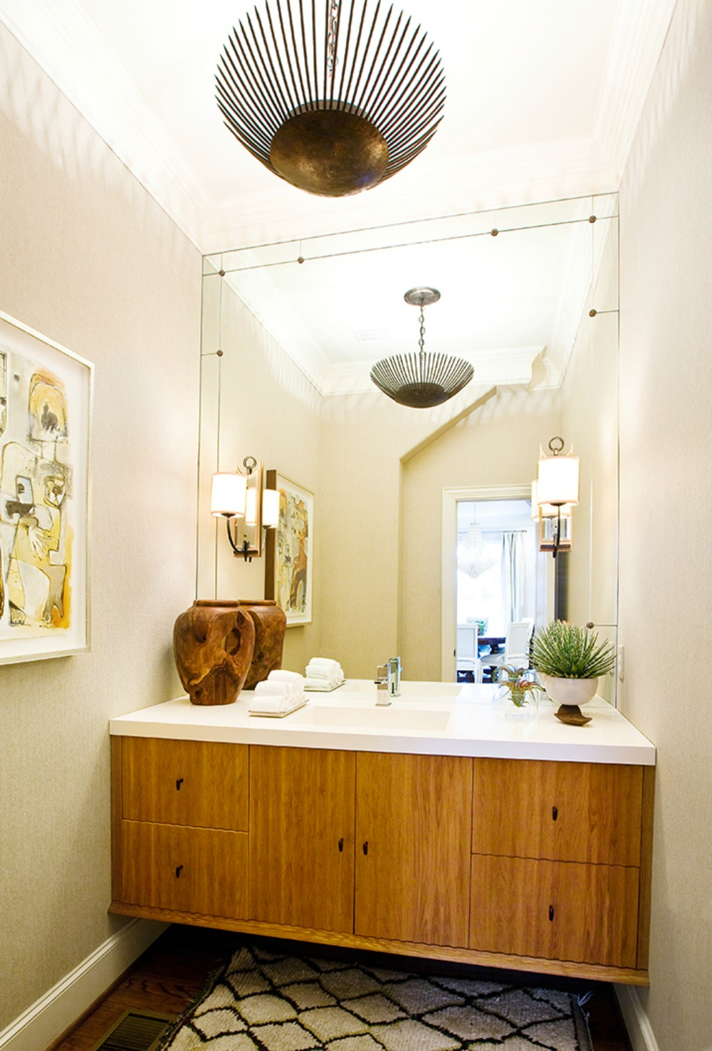 Make Your Bathroom Chic With This One Item @ acheekylifestyle.com by Val Banderman