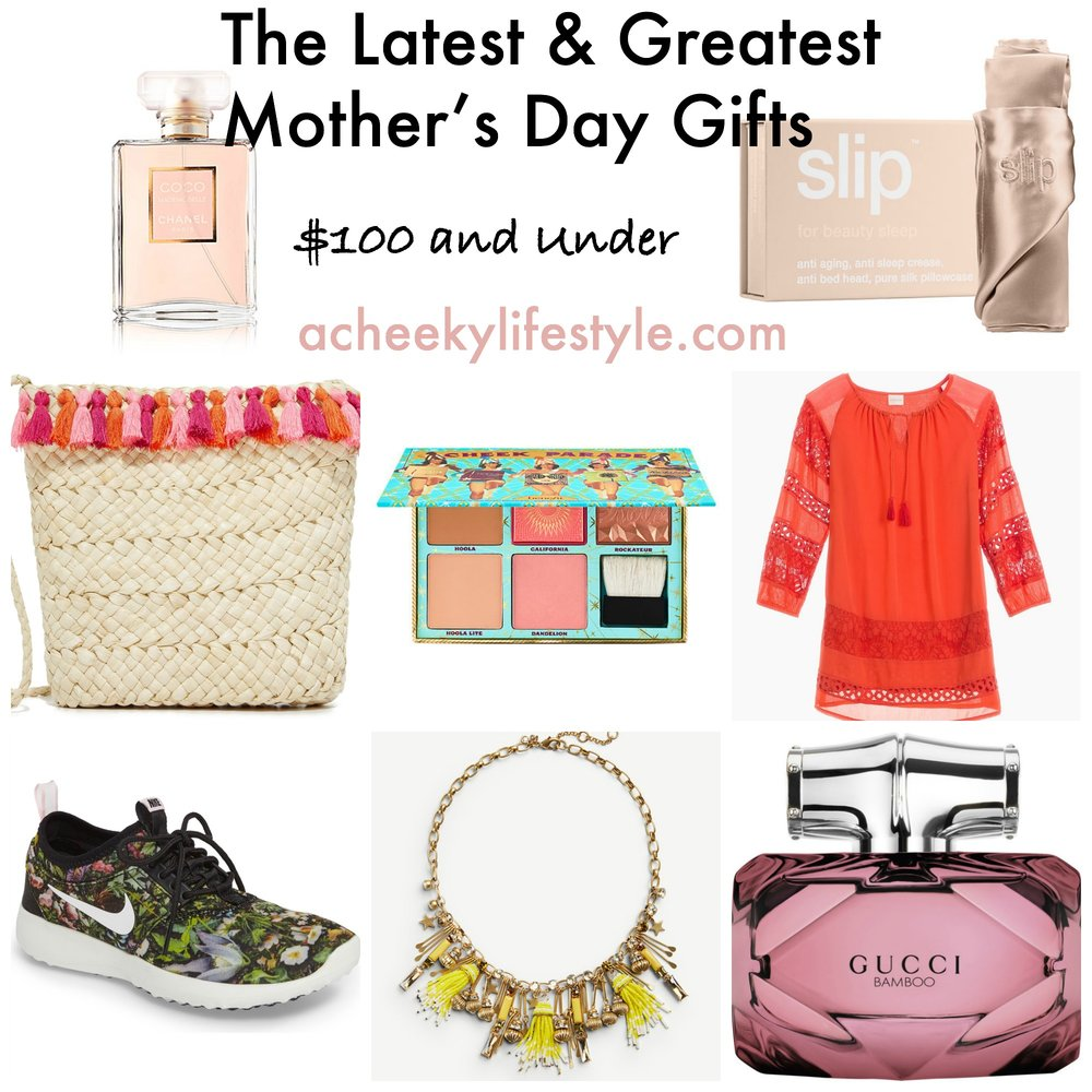 The Latest & Greatest Mother's Day Gifts @ acheekylifestyle.com by Val Banderman