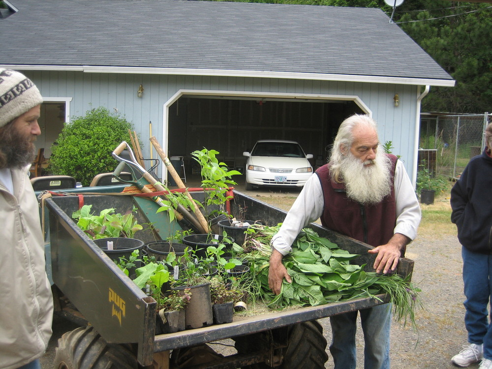 Preparing for a food forest workshop