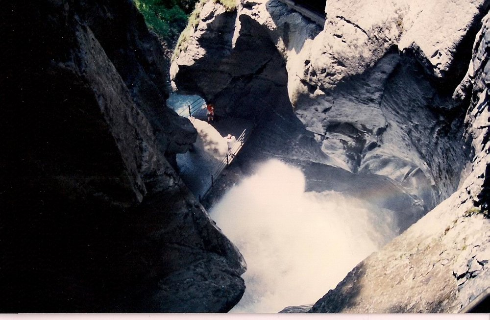 Trummelbach Falls, Lauterbrunen Switzerland