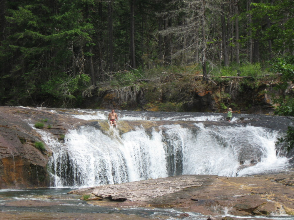 Lower Umpqua River Falls