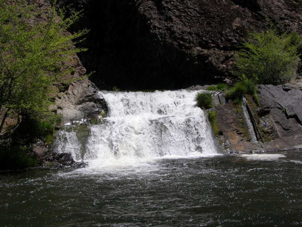 The second falls on Jenny Creek
