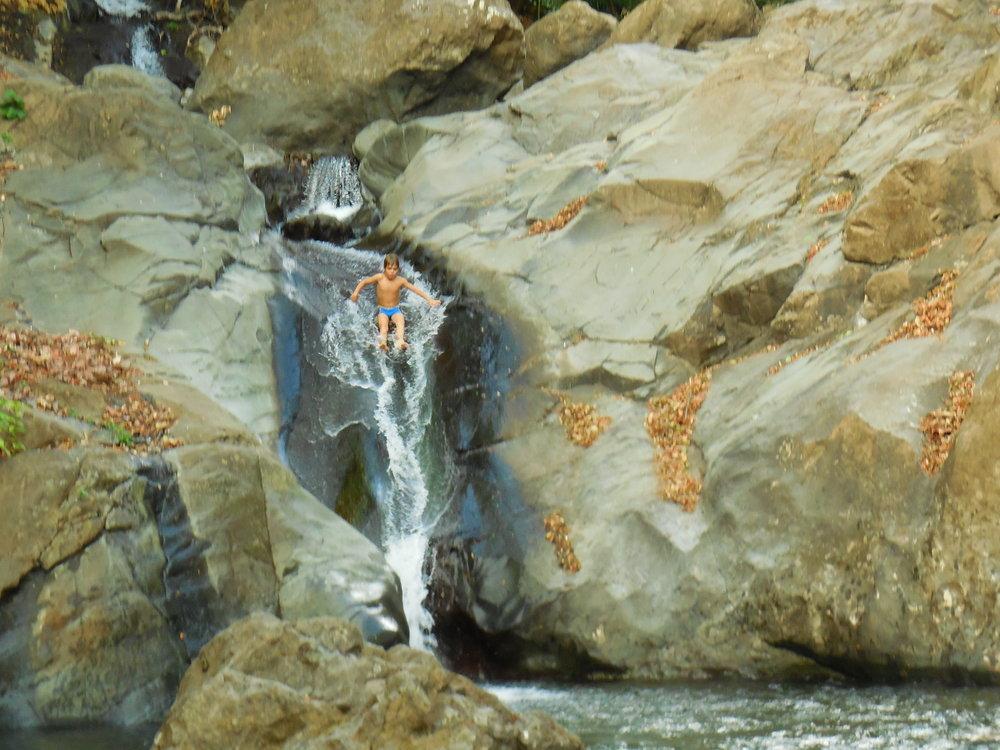 The Slide, Rio Machuga