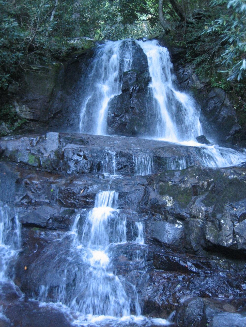 Another beautiful cascade waterfall, Smokey Mountains
