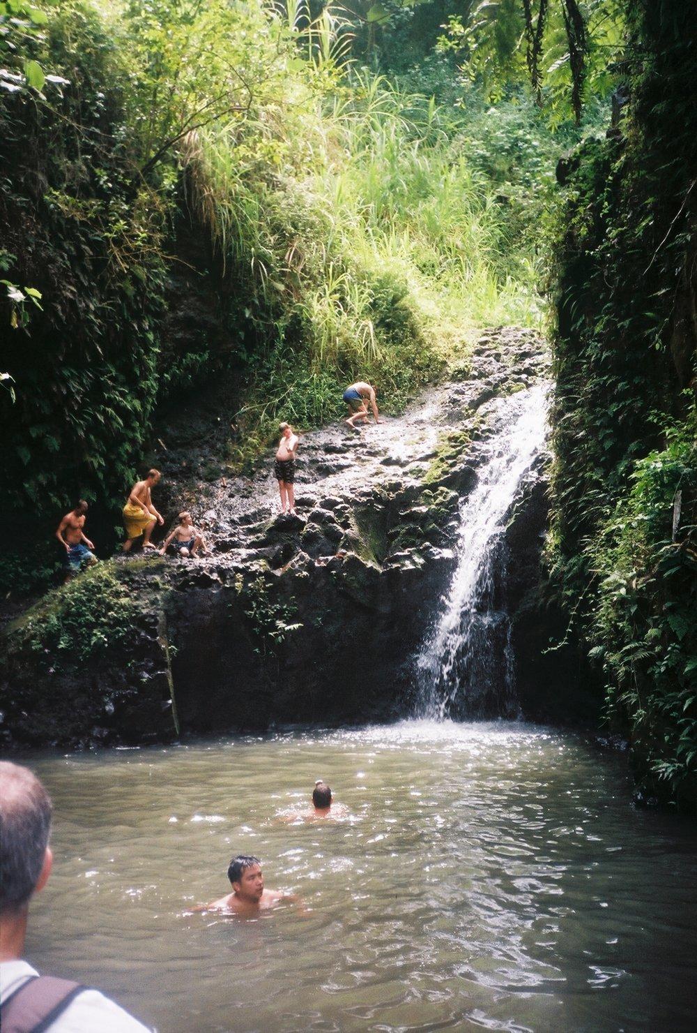 Hidden Waterfall, Oahu, Hawaii
