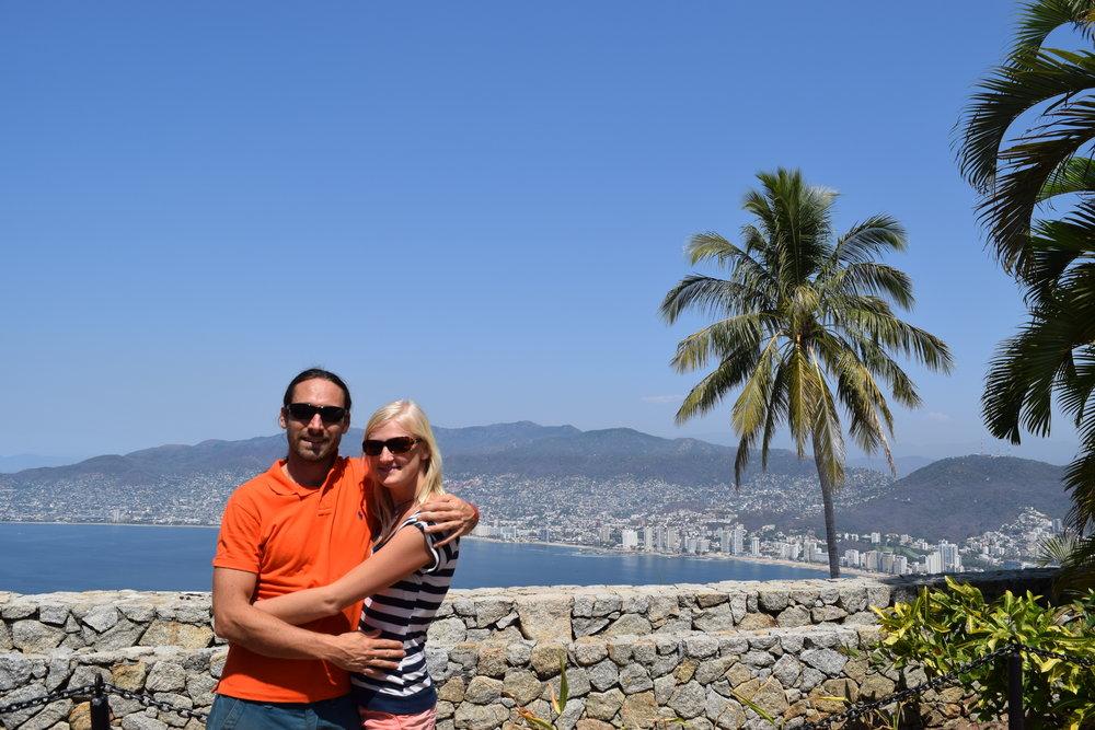 Overlooking Acapulco