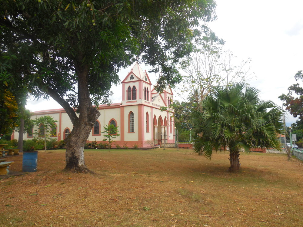 The church in San Mateo