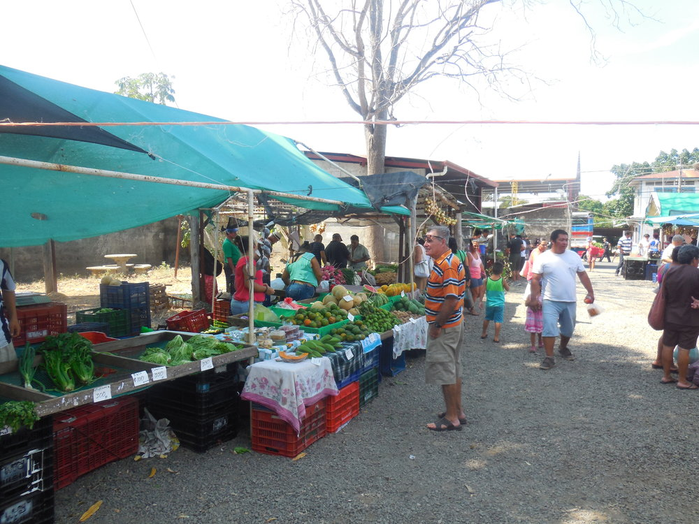 Weekly Market in Orotina