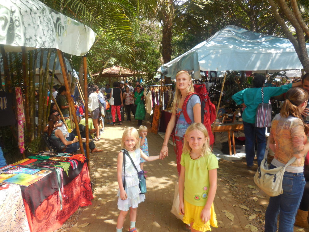 Feria Verde, the Organic Farmer's Market, San Jose