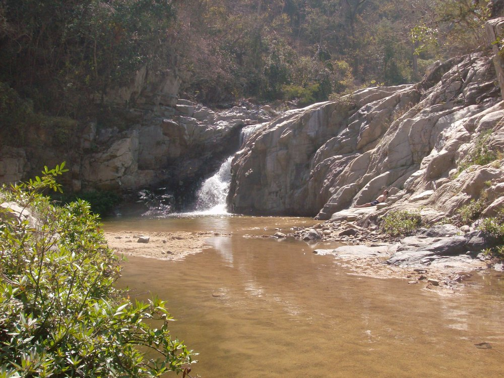 The waterfall back in 2008