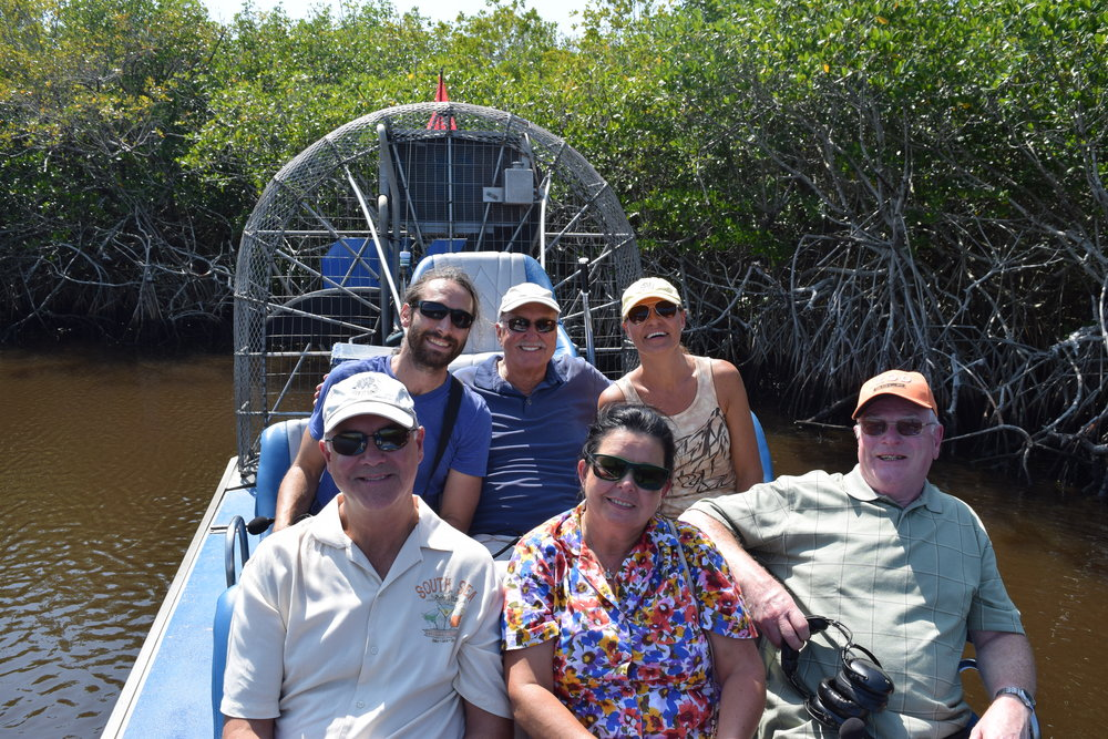 Fanboat Tour in the Everglades