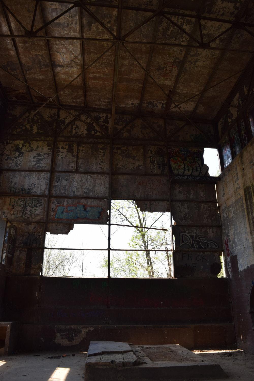 Abandoned hydro plant