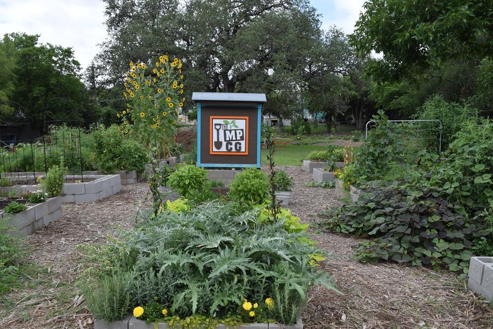 Mahncke Park Community Garden -