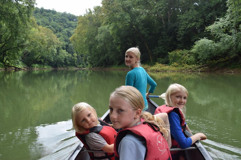 Green River Canoe Trip -