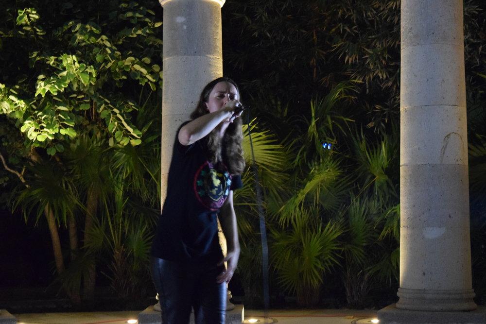 Alais performing at Anarchapulco 2016