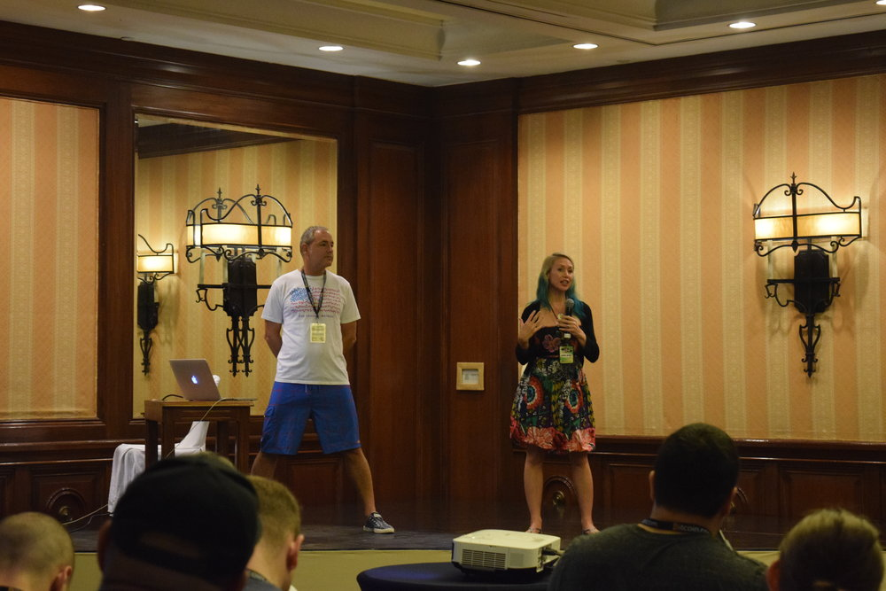 Ken and Janine Jordan