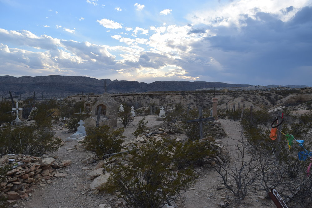 Cemetery in Terlingua