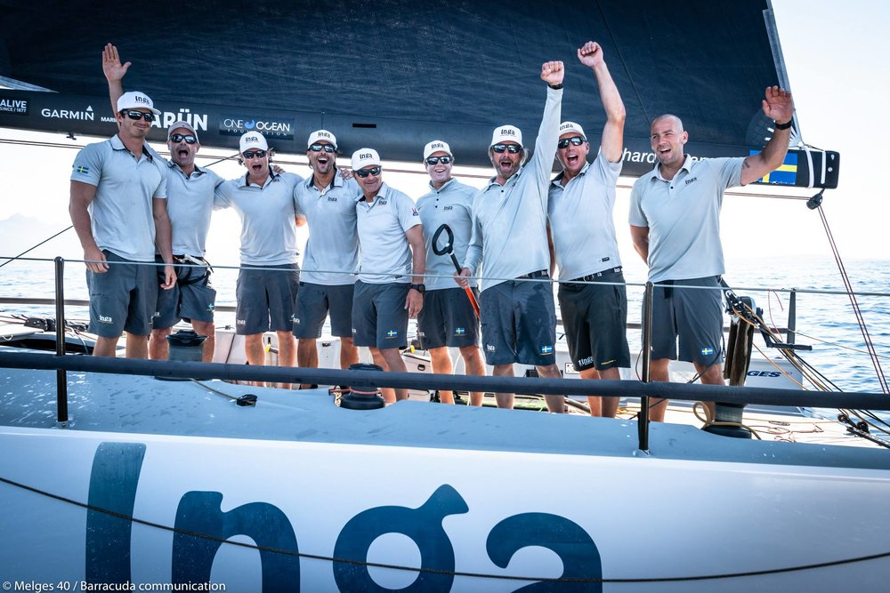 2018 One Ocean Melges 40 Grand Prix Champions — INGA FROM SWEDEN