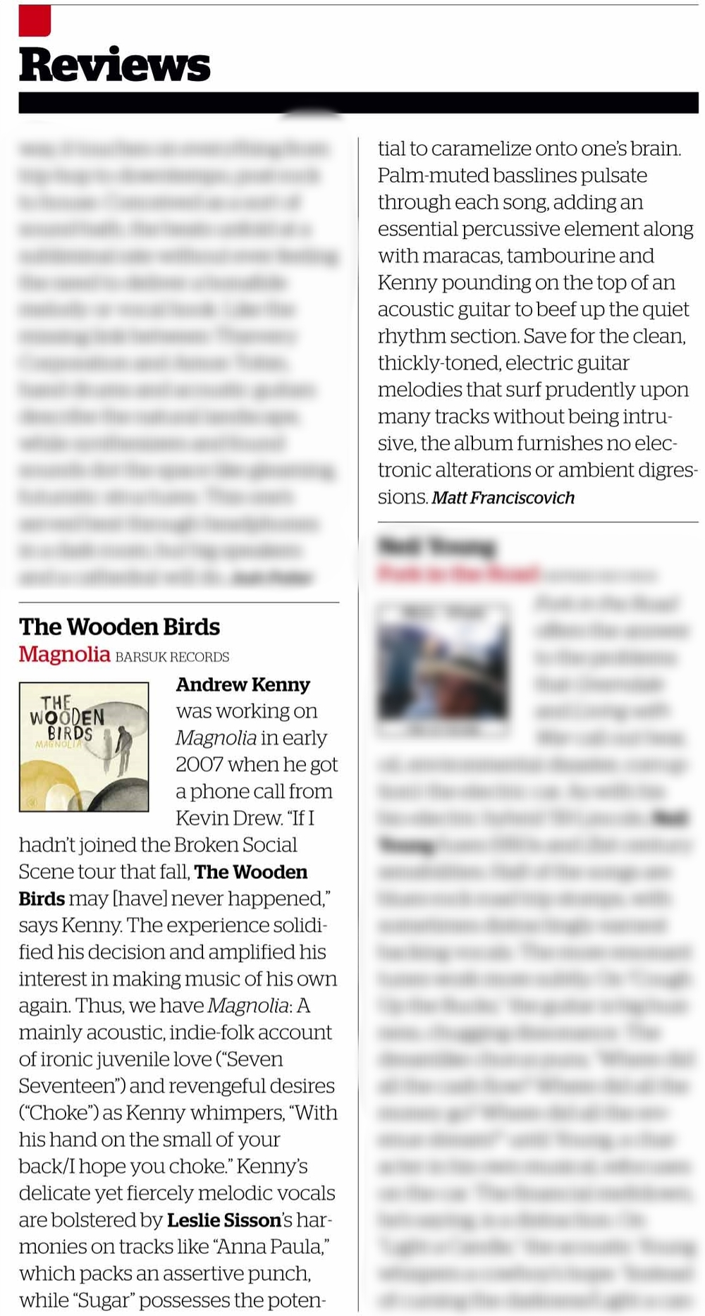 Album review: The Wooden Birds