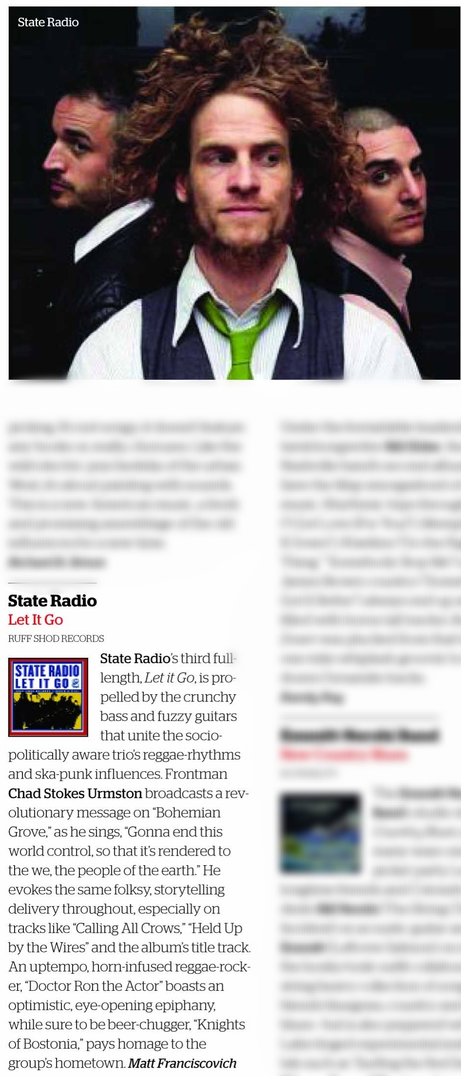 Album review: State Radio