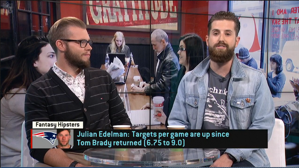 Video: Fantasy Hipsters on Julian Edelman