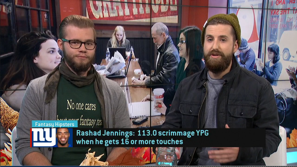 Video: Fantasy Hipsters on Rashad Jennings