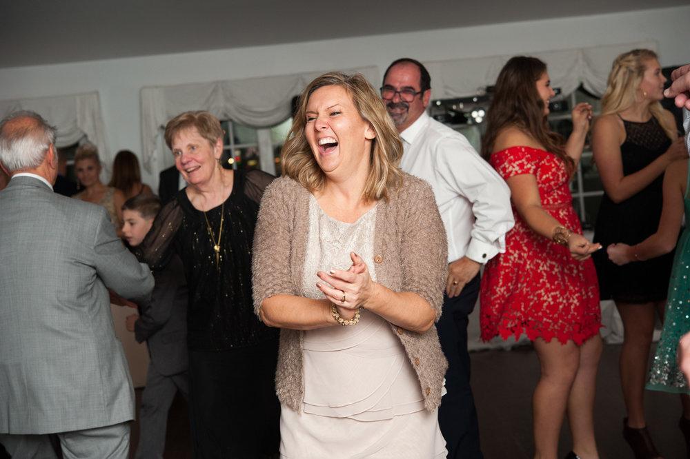Guest dancing