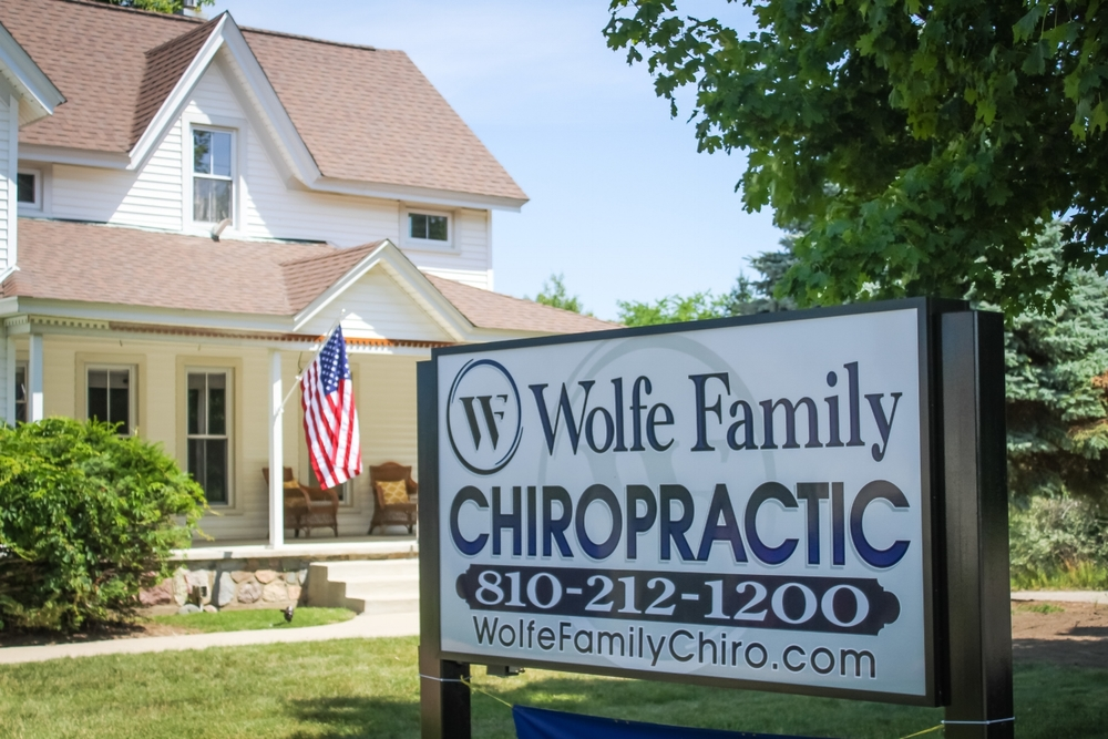 Wolfe Family Chiropractic Metamora Office Front
