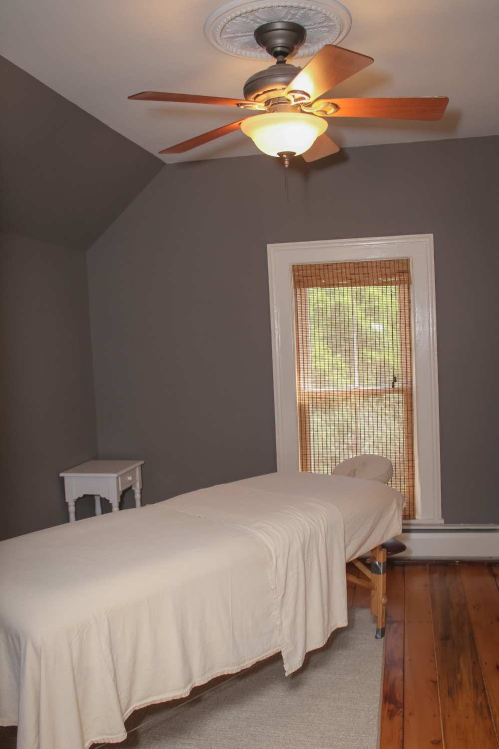 One of Two Massage Therapy Rooms At Wolfe Family Chiropractic Metamora