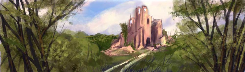 The Ruined Tower, by Amanda Spaid; you may have seen this on the website. :)