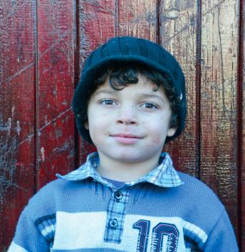 Ovidiu Lucaciu Age 4