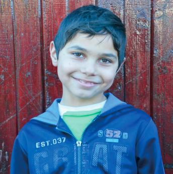 Andrei Lucaciu   Age 8