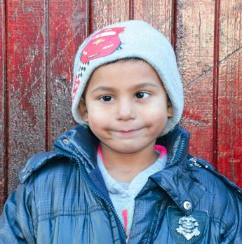 Denis Lucaciu Age 5