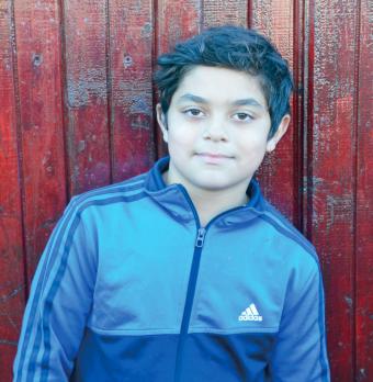 Iacob Lucaciu Age 9