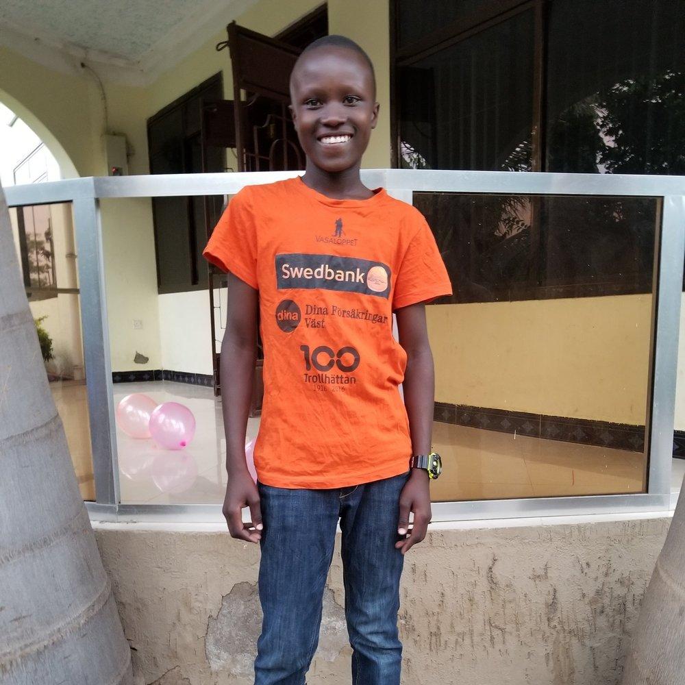 Samson Ngelela   Age 14