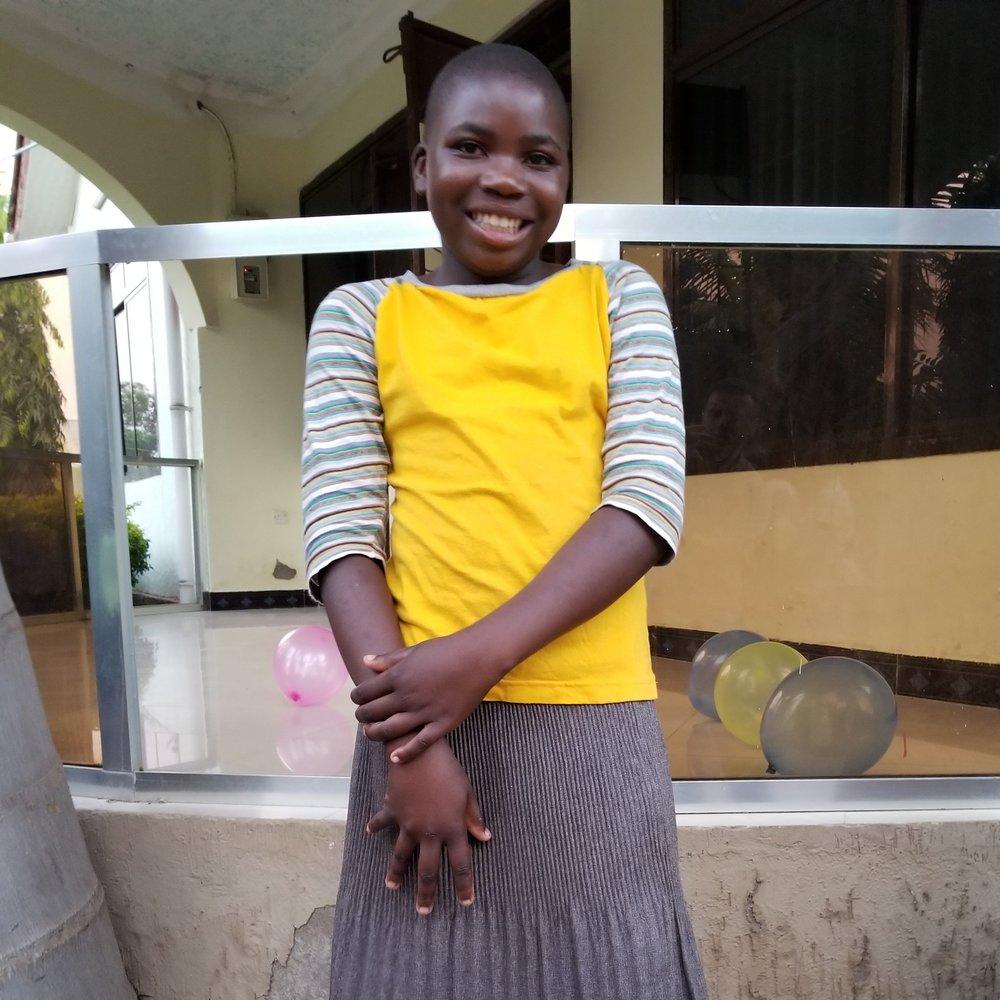 Furaha Nkwabi Mahona   Age 13