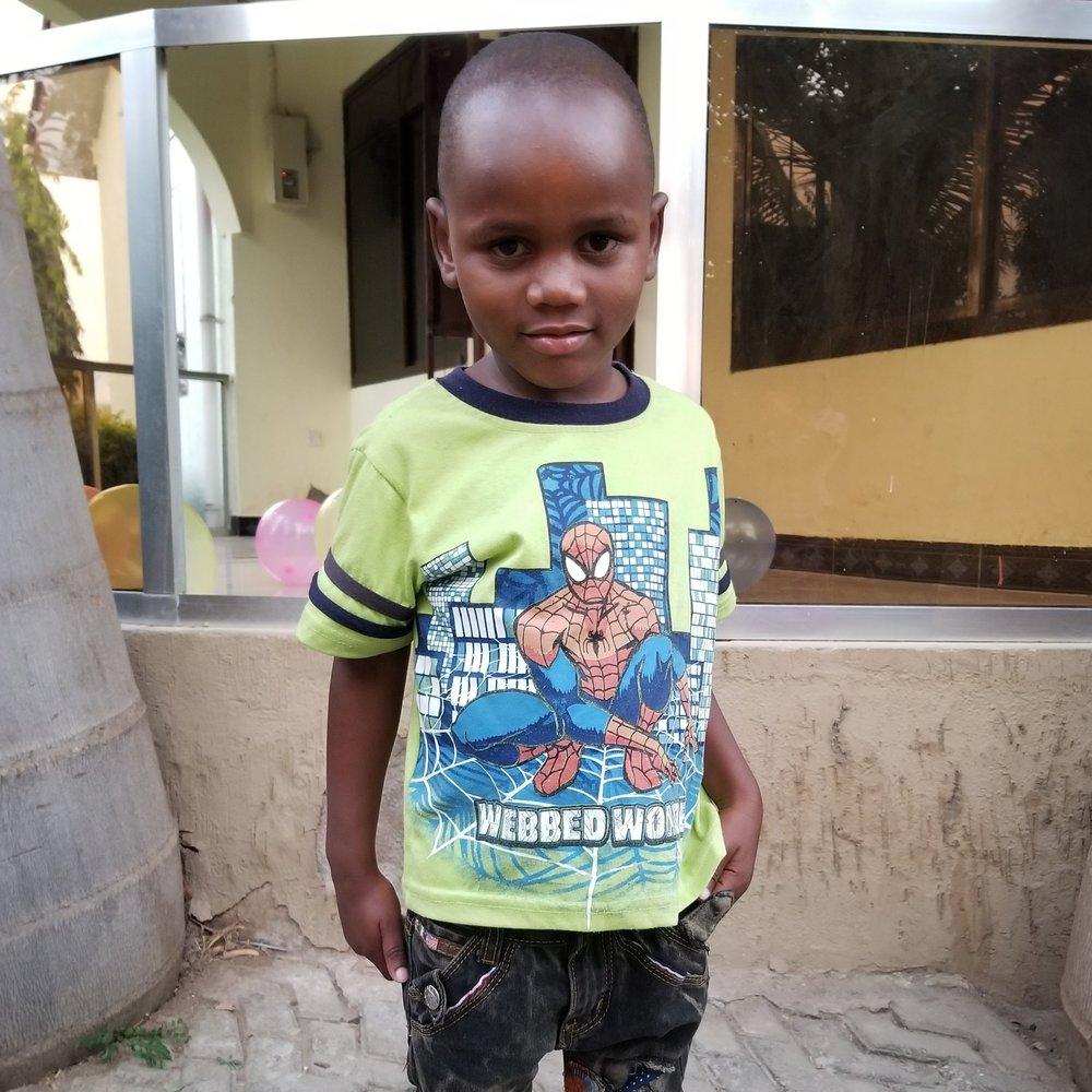 Abel Mazinge Kuyela   Age 5