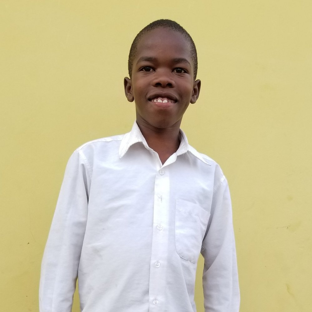Richard Hamilton Makunzo   Age 10