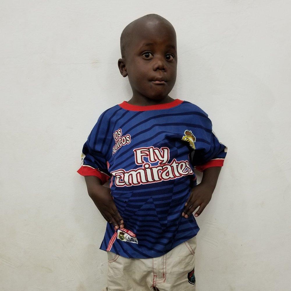 Christian Hassan Mwemela   Age 4
