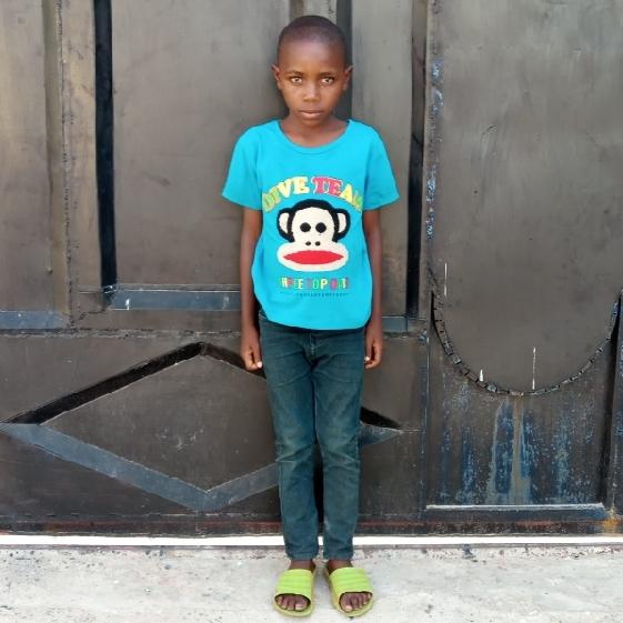 Imani Deme Msoma   Age 7