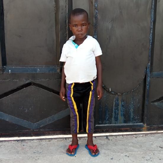 Isaya Saimon Mabula   Age 6