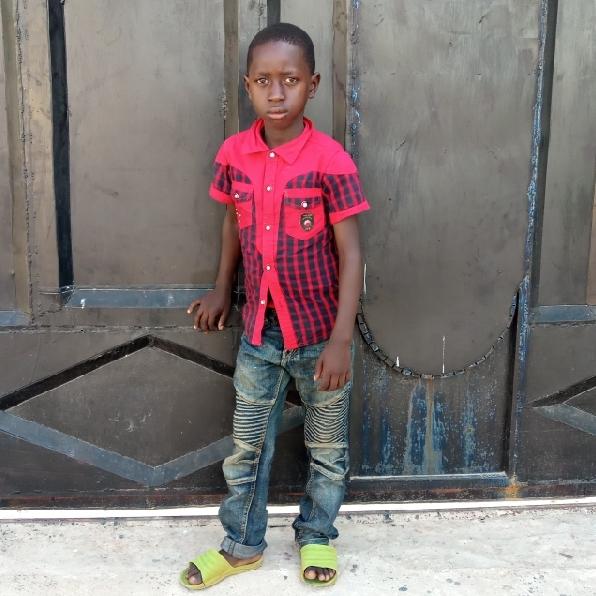 Joseph Peter Joseph   Age 7
