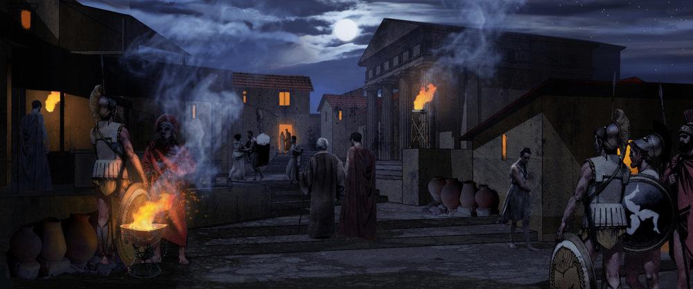 JAMES HEGEDUS - 300 / BATTLE OF ARTEMISIA