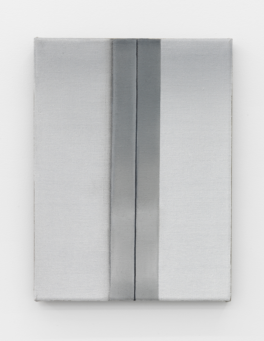 Dana Powell  Untitled (lift) , 2015 Oil on linen 12 x 9 inches