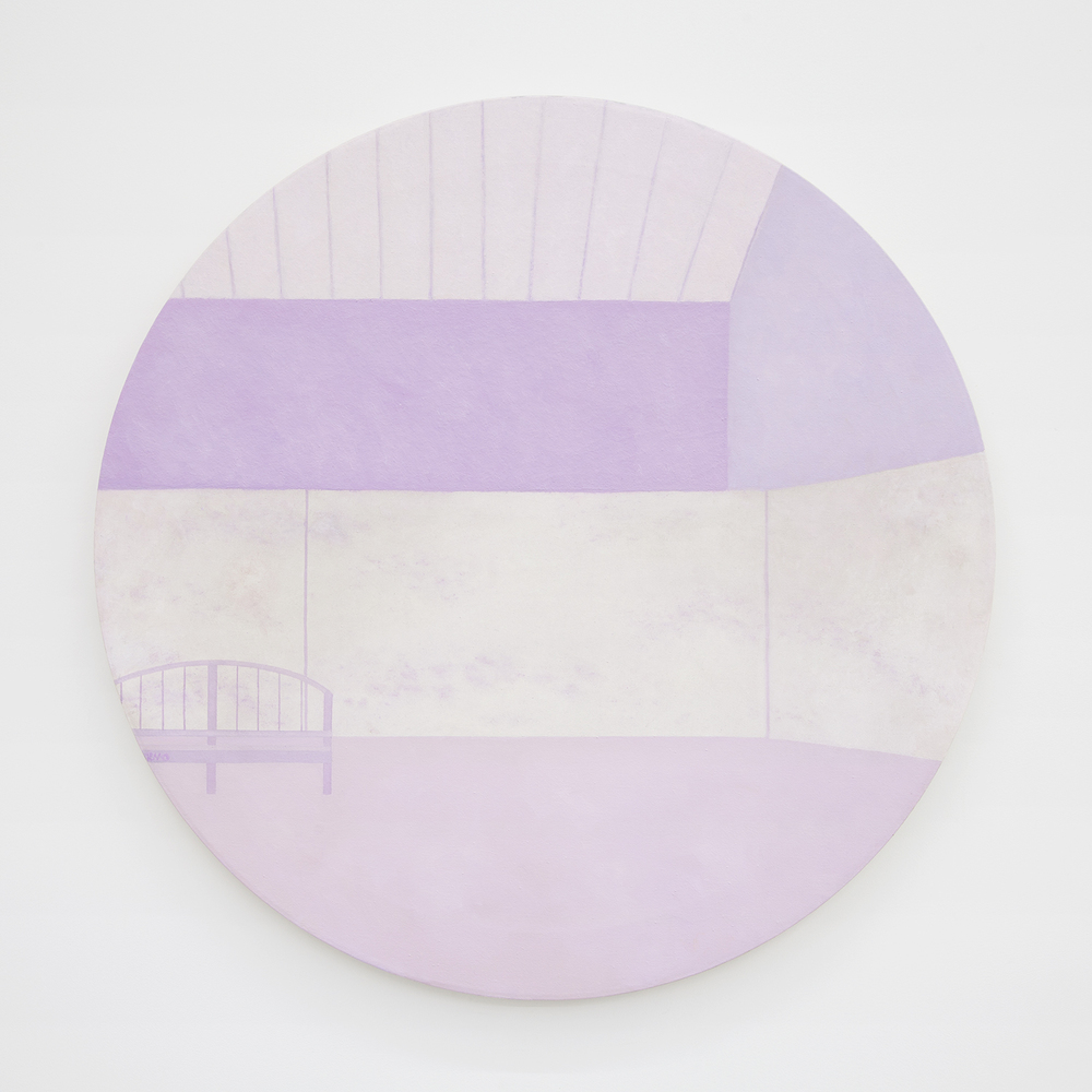 Richard Osterweil Monet Studio - Nymphéas - Mauve, 1983-1984 Oil on canvas 36 x 36 inches