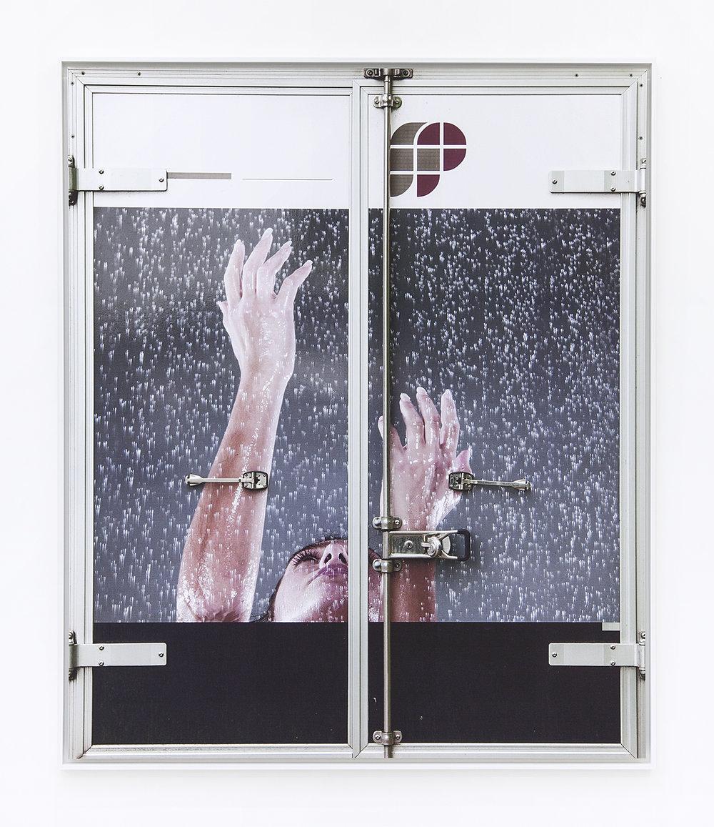 Peter Piller  Erscheinungen #6 , 2015 Inkjet print Alu-dibond 59 x 50 inches
