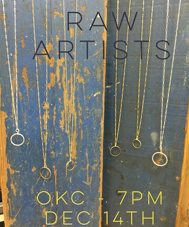 Come out and celebrate 50 artists at RAW OKC: Holiday RAWk on Wednesday, December 14th from 7-11PM // $15 online $20 door // Farmer's Public Market (311 S. Klein Ave, Oklahoma City, OK 73108)  This is a one night mini festival featuring music, hair, makeup, fashion, photography, accessories, and visual art! Support me by purchasing a ticket toward my showcase:  www.rawartists.org/aniramrevah  #OKC #madeinok #showcase #supportlocalbusiness #artevent